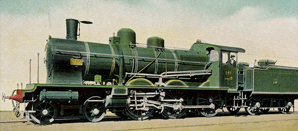 French express engine